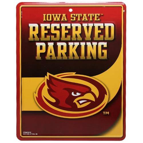 NCAA Iowa State Cyclones Parking Sign