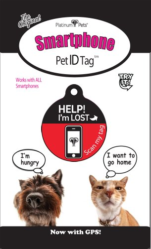 Platinum-Pets-The-Original-Smartphone-Puppy-ID-Tag-with-GPS-Small-Red