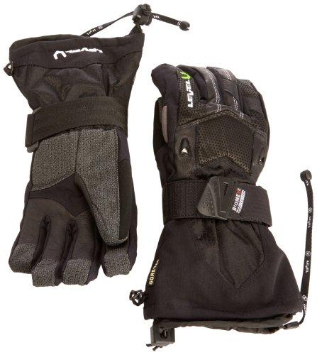 Level Herren Handschuh Super Pipe XCR, 01 Black, 8.5, 1002UG