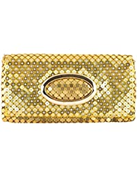 Essence Women's Clutch (Gold, ESG027)