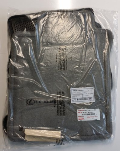 Toyota Genuine Parts PT208 60030 11 OEM Lexus GX470 Gray Carpet