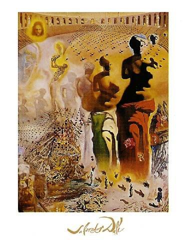 Salvador Dali - Le torero hallucinogène