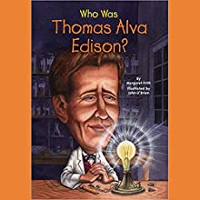 Who Was Thomas Alva Edison? Audiobook by Margaret Frith Narrated by Kevin Pariseau