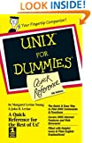 UNIX For Dummies Quick Reference
