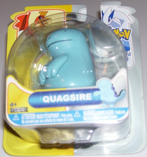 Buy Low Price Jakks Pacific Pokemon Heartgold & Soulsilver Johto Basic Single Action Figure Quagsire (B004GZHFSU)