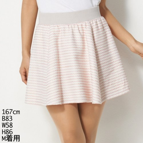 セシルマクビー(CECIL McBEE) スカート(春ツイードスカート)【ピンク/M 】