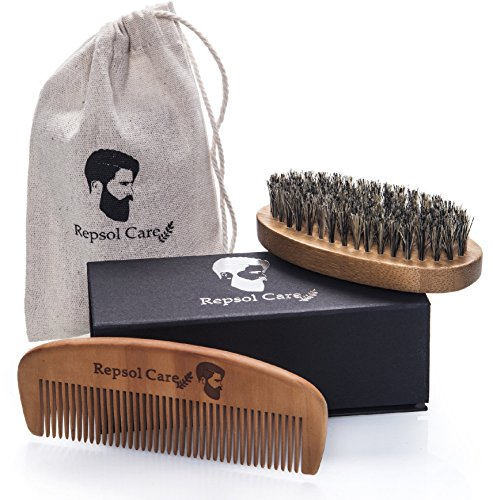 Repsol Care Natural Boar Bristle Beard Brush