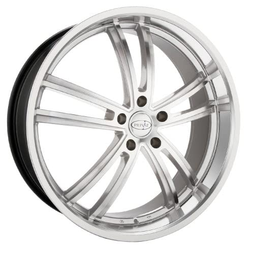 18x8 Privat Atlantik (Silver w/ Machined Face) Wheels/Rims 5x112 (A388512459)
