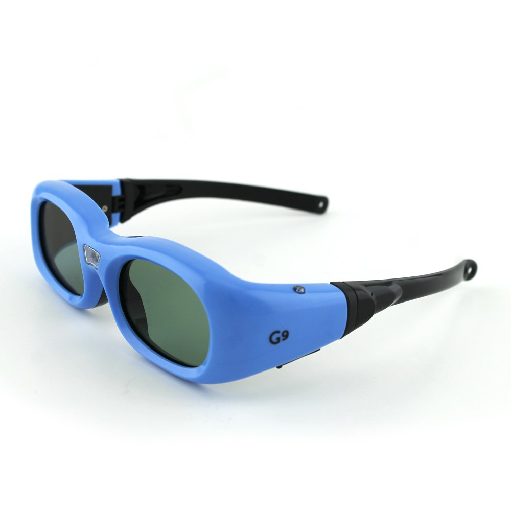 Compatible BenQ Kids Blue DLP-Link 3D Glasses by Quantum 3D (G9) 3d очки   3d sg16 dlp bluetooth rf 3d 3d dlp link 3d 3d