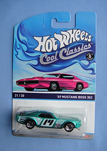 Hot Wheels Cool Classics 21/30 - '69 Ford Mustang Boss 302