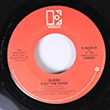 QUEEN 45 RPM Play the Game / A Human Body