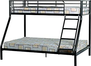 Tandi Triple Sleeper Bunk Bed in Black