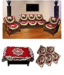 Wow Latest Design Velvet Sofa Combo