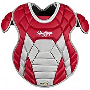 Buy Rawlings Intermediate Catchers Chest Protector, Matte Scarlet by Rawlings