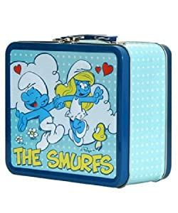 SMURF CLASSIC METAL LUNCHBOX