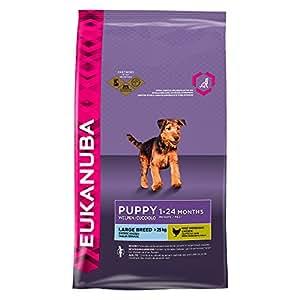 Eukanuba Puppy - Hunde-Trockenfutter für große Rassen - Huhn 15 kg
