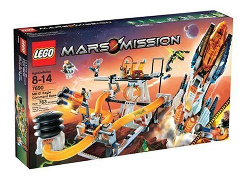 LEGO Mars Mission MB-01 Command Base Amazon.com