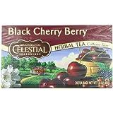 Celestial Seasonings Black Cherry Berry Tea, 20 Count (Pack of 6)