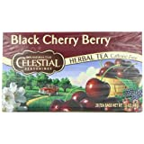 Celestial Seasonings Herb Tea, Black Cherry Berry, 20-Count Tea Bags (Pack of 6) ~ Celestial Seasonings