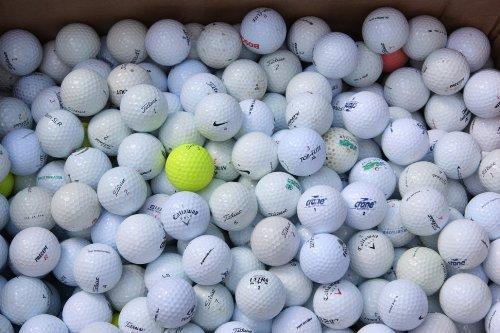100 TOP QUALITY LAKEBALLS (Golfbälle gebraucht)