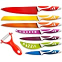 OxGord Professional 8-Piece Stainless Steel Chef Knife Set