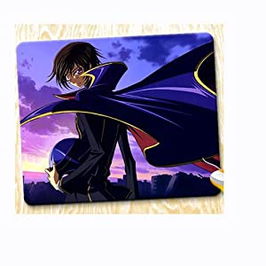 """Japanese Anime Code Geass Lelouch of the Rebellion Mouse Pad with Design Gaming Mouse Pad 11.8""""*14""""(30cm*36cm)"""