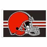 NFL Cleveland Browns 3-by-5 foot Stripe Design Flag