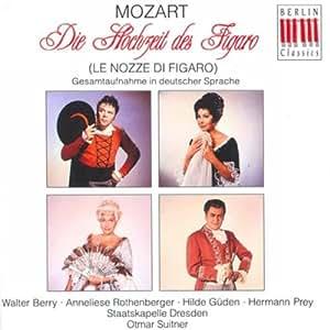 Mozart: Die Hochzeit des Figaro (Gesamtaufnahme 1966 - deutsch)