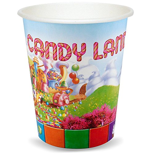 CandyLand 9 oz. Paper Cups (8)