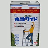 ニッペ 多用途塗料 水性フレッシュワイド ミルキーホワイト 14L