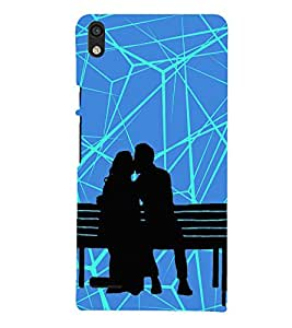 Kiss in Public Kissing 3D Hard Polycarbonate Designer Back Case Cover for Huawei Ascend P6 :: Huawei P6 :: Huawei Ascend P6 Dual