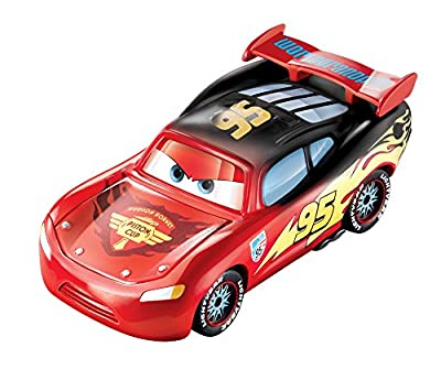 Disney/Pixar Cars, Color Changers, Lightning McQueen [Red to Black] Vehicle from Mattel