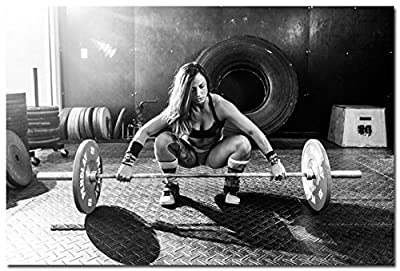 BestWeeks BodyBuilding Women Fitness Motivational Art Photo Poster Poster Gym Picture For Wall Decor 21
