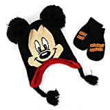 Mickey Mouse Toddler Laplander Hat with Mittens Set