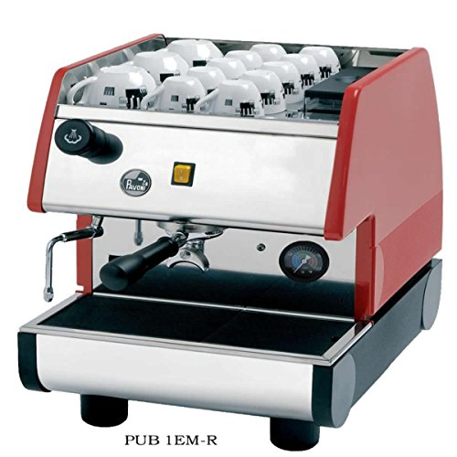 Portable Commercial Espresso Machine (Red)