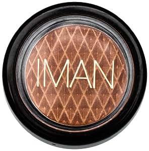 Amazon.com : Iman Cosmetics Luxury Eye Shadow, Nutmeg : Iman Eyeshadow