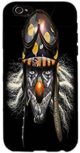 Snoogg evil clown soldier 2625 Case Cover For Apple Iphone 6 iphone 6