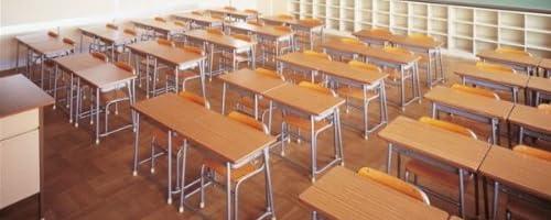 学校机+イスセット(旧JIS規格)高さ調節機能付(学童用)(1A(131~173cm以上))
