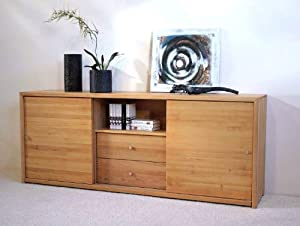 delta sideboard anrichte red alder erle massiv 05021749 k che haushalt. Black Bedroom Furniture Sets. Home Design Ideas
