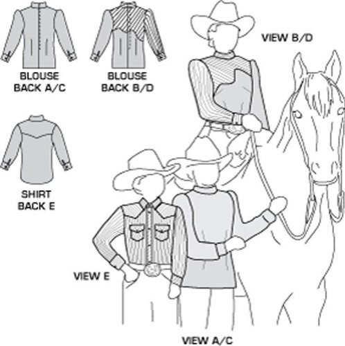 Western Sewing Patterns Western Shirt Pattern