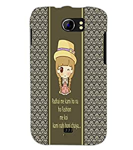 PrintDhaba Quote D-4306 Back Case Cover for MICROMAX A110Q CANVAS 2 PLUS (Multi-Coloured)