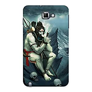 Shiva Back Case Cover for Galaxy Note