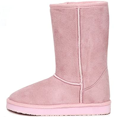 new fashionable snow warm boots shearling womens basic