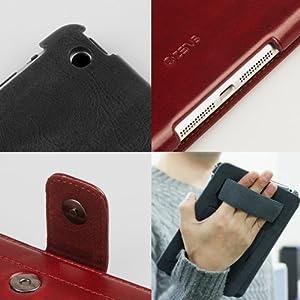 Zenus iPad mini ケース Masstige Neo Classic Diary ワインレッド Z1587iPM