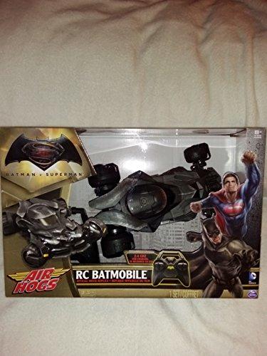 Batman vs Superman Official Movie Replica RC Batmobile Light Up Remote Control In Unopened Box