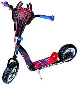 Darpeje OSPI088 Spiderman Scooter, 10 Zoll