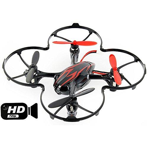 Hubsan-H107C-X4-Pro-Quadcopter-Drone-480P-RotSchwarz