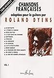 Chansons fran�aises Volume 1 - guitare avec tablatures