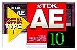 TDK カセットテープ AE 10分 ノーマル/TYPEⅠ