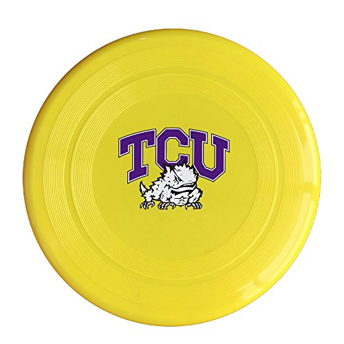 EVALY Texas Christian University Frogs 150 Gram Ultimate Sport Disc Frisbee Yellow (Madden Football Nintendo Ds Games compare prices)